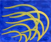 Golden Sea Grasses in Acrylic Paintings at Healing SpiritScapes